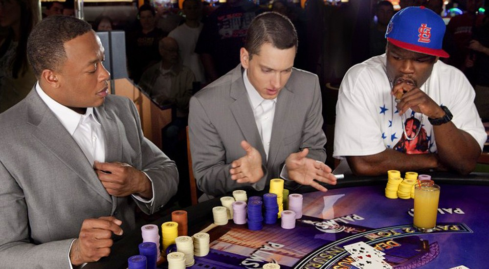 50 Cent is the gambler alive