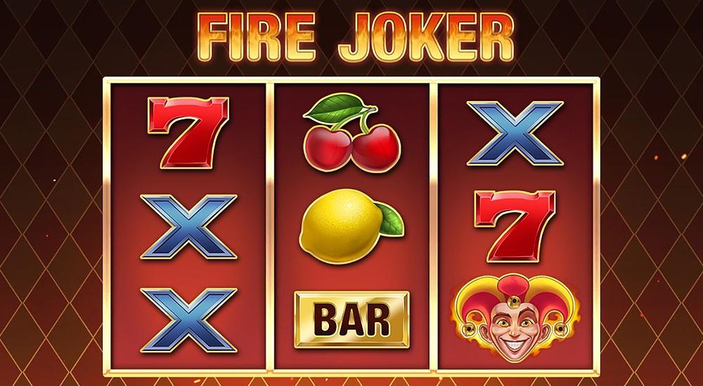 Win money online with Fire Joker