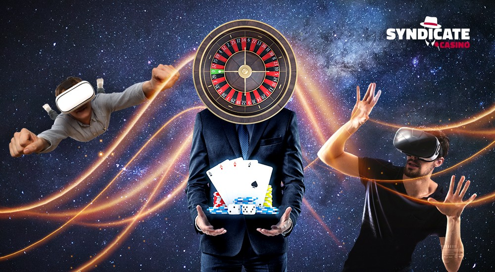 VR casino is when the gamblers look like astronauts floating in space