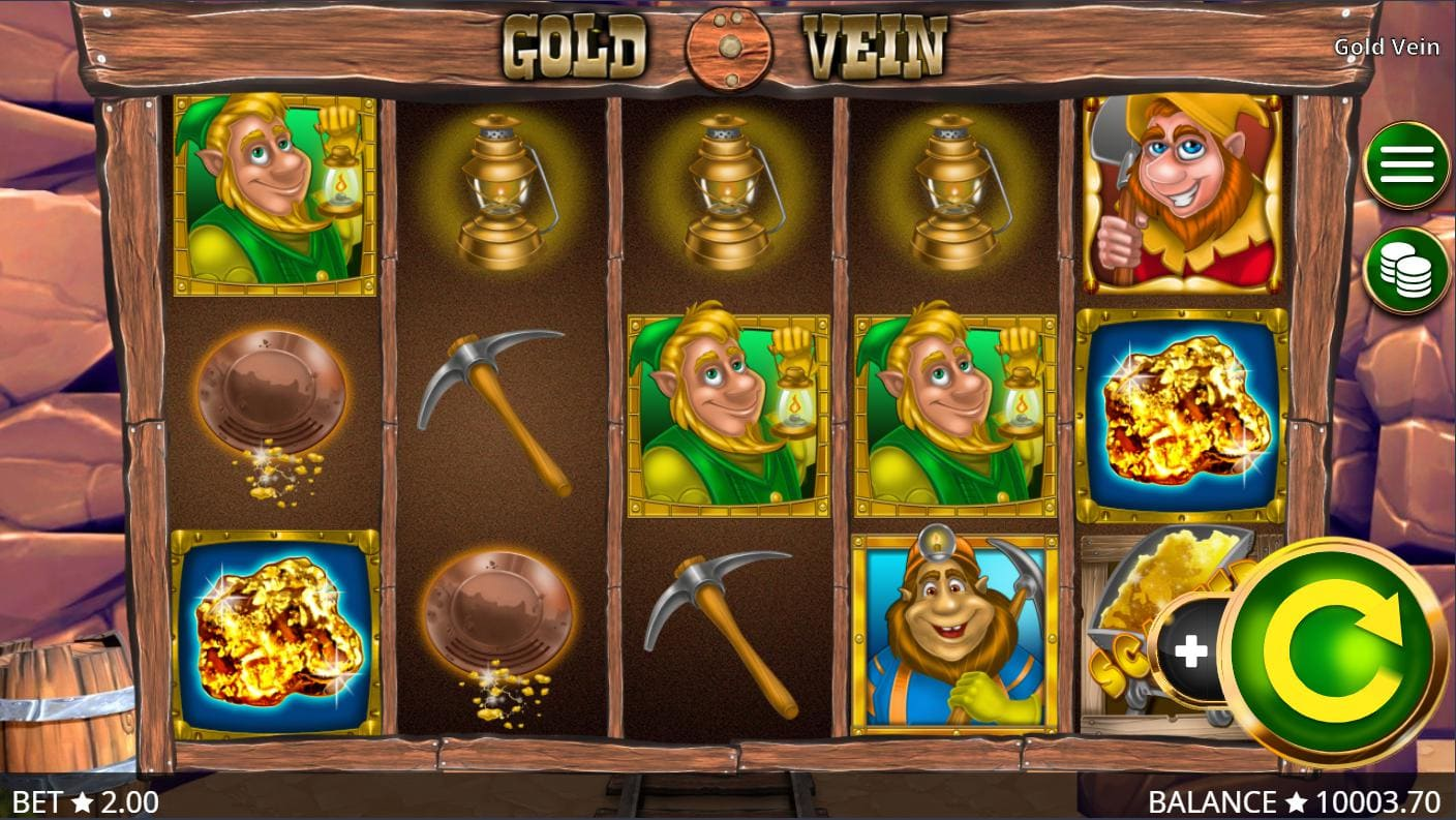 Playing online casino slot Gold Vein on Syndicate.casino now no download