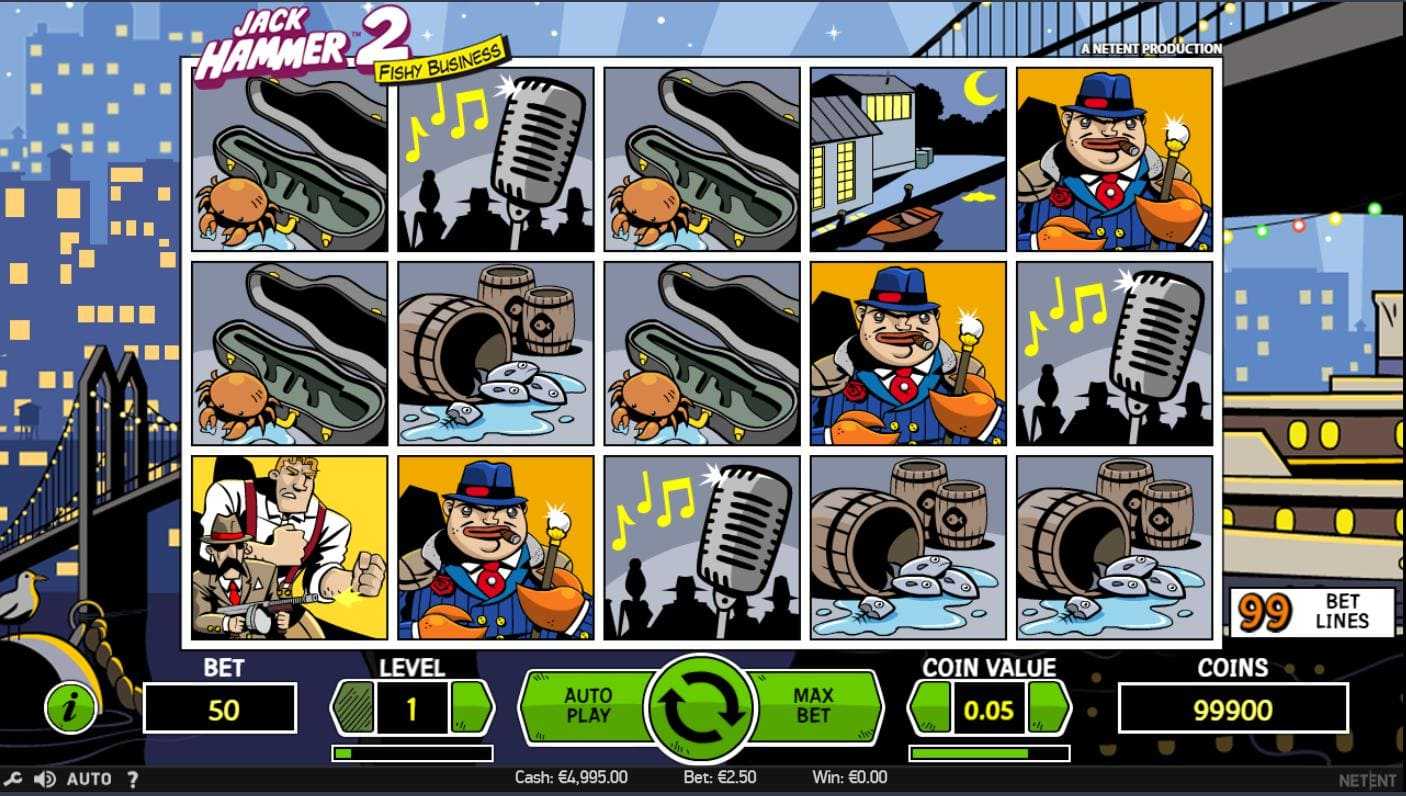 Playing online casino slot Jack Hammer 2 on Syndicate.casino now no download