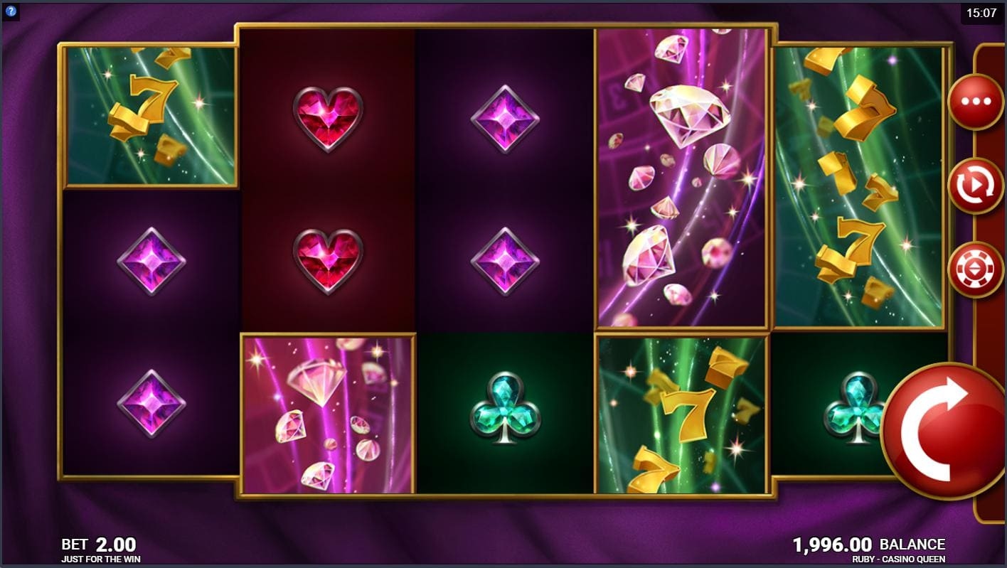 Playing online casino slot Ruby Casino Queen on Syndicate.casino now no download