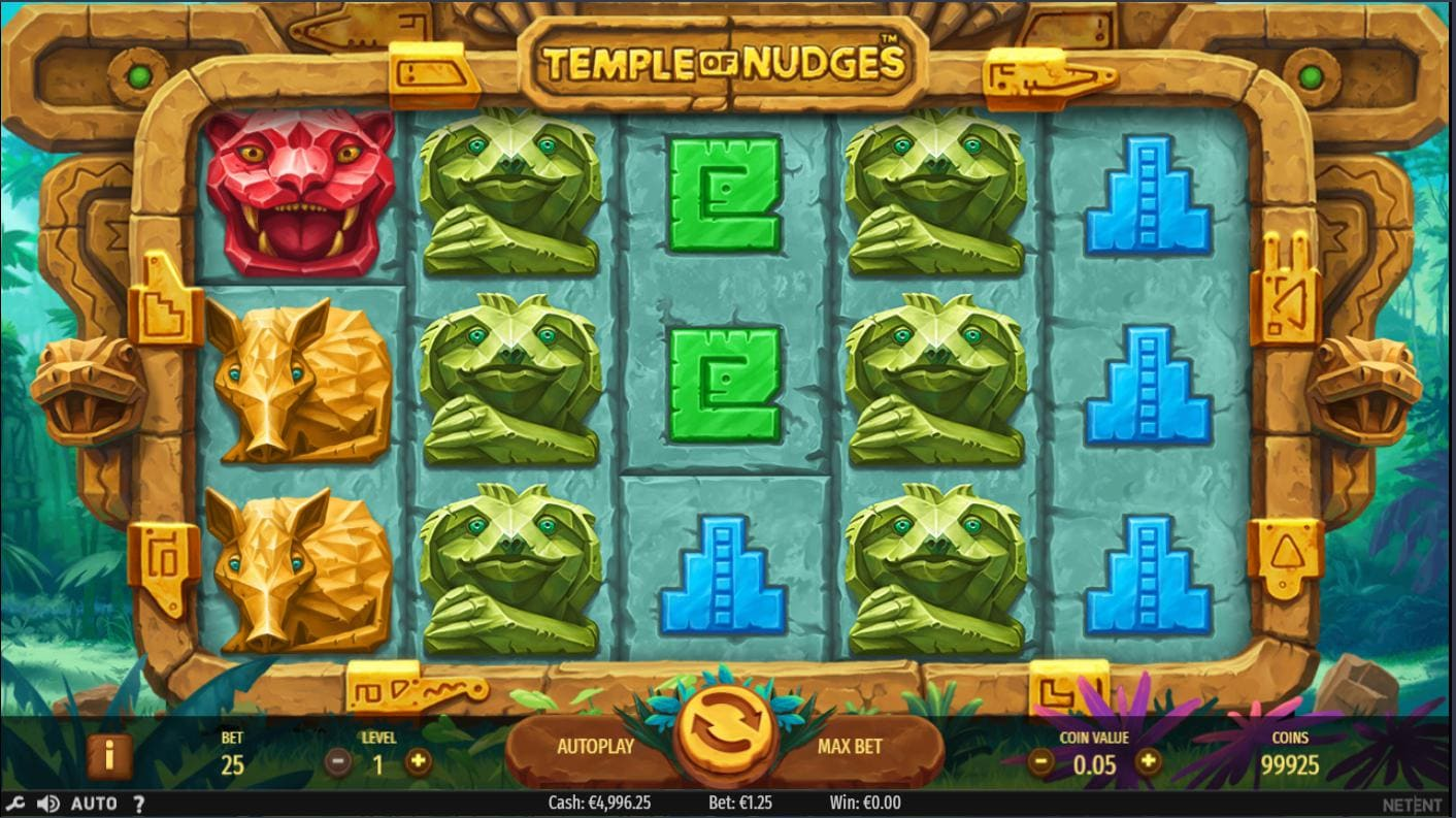 Online Slot Temple of Nudges - playing now on Syndicate.casino