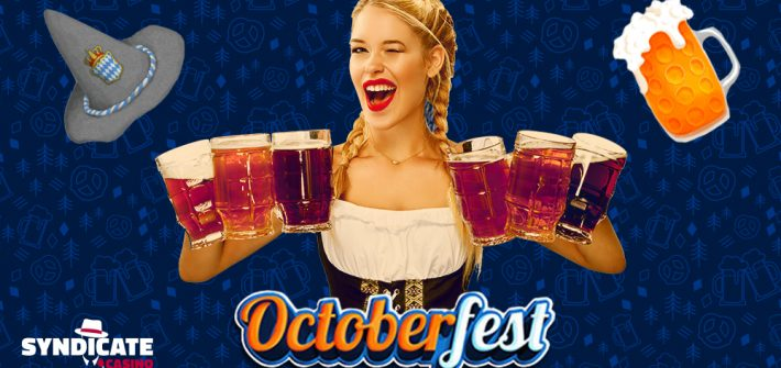 Play Octoberfest slot with Octoberfest girl
