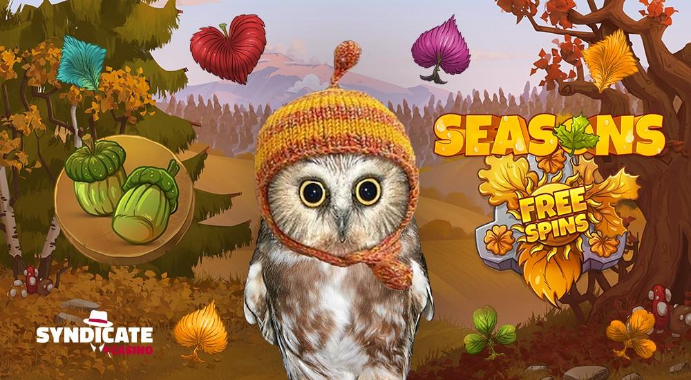 Seasons slot in Autumn's days