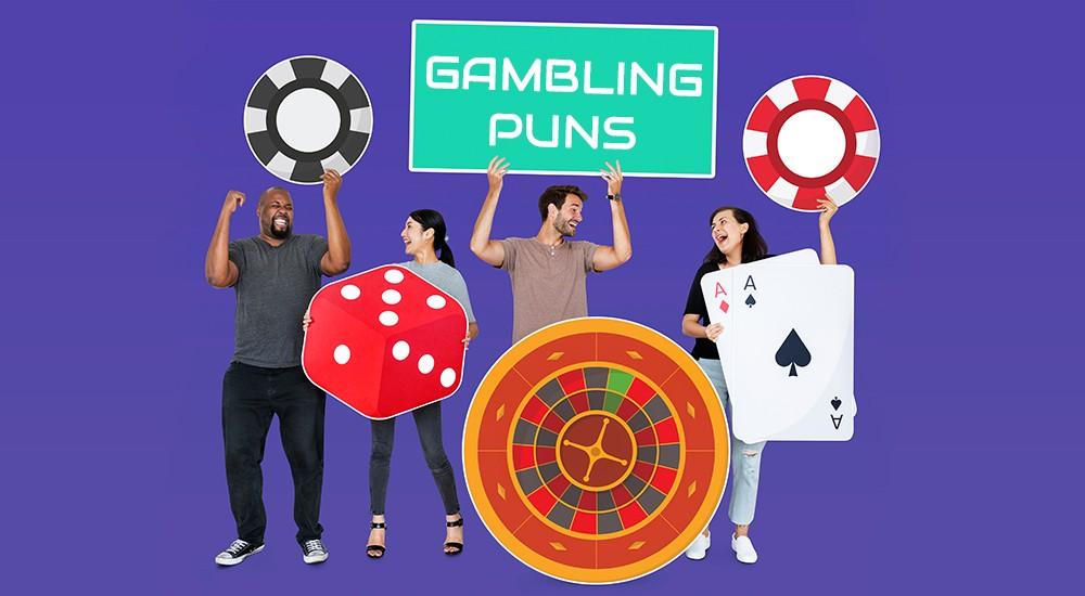Funny gambling puns and casino jokes