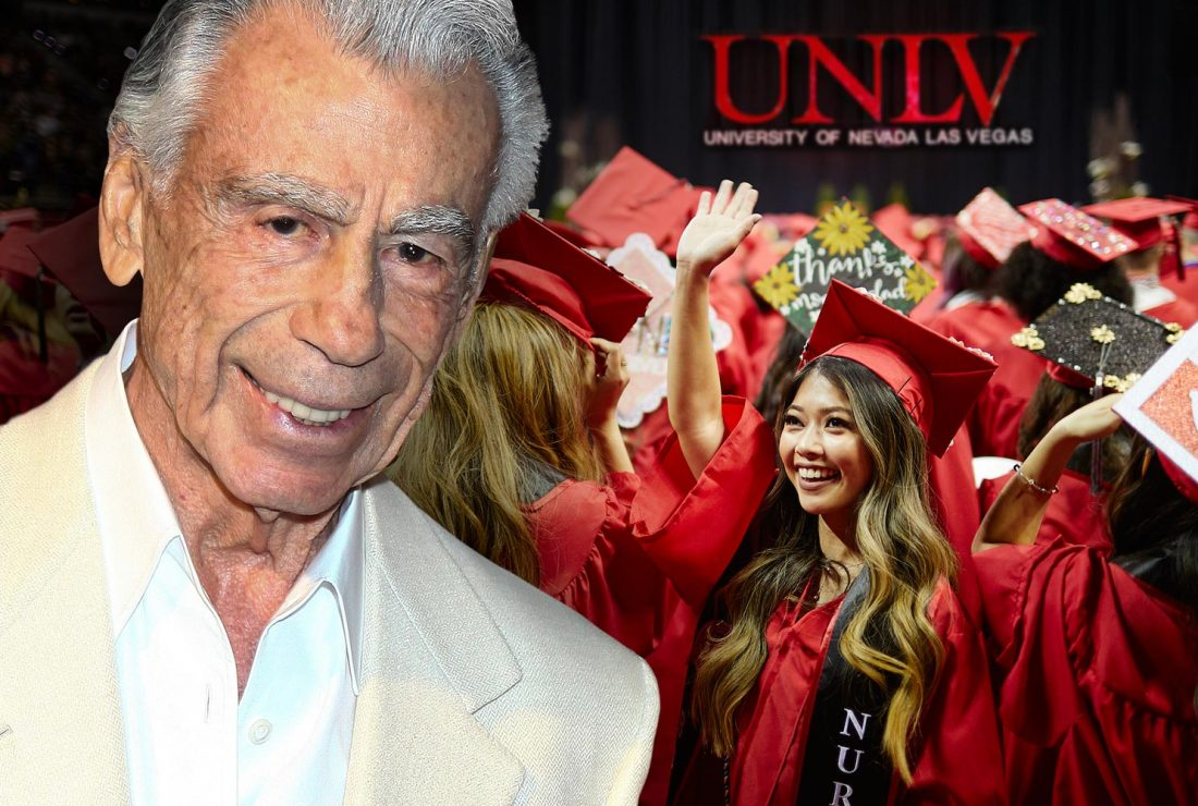 Kirk Kerkorian Estate granted 25 million dollars to UNLV