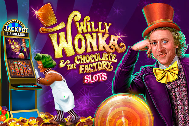 willy wonka and chocolate factory slot